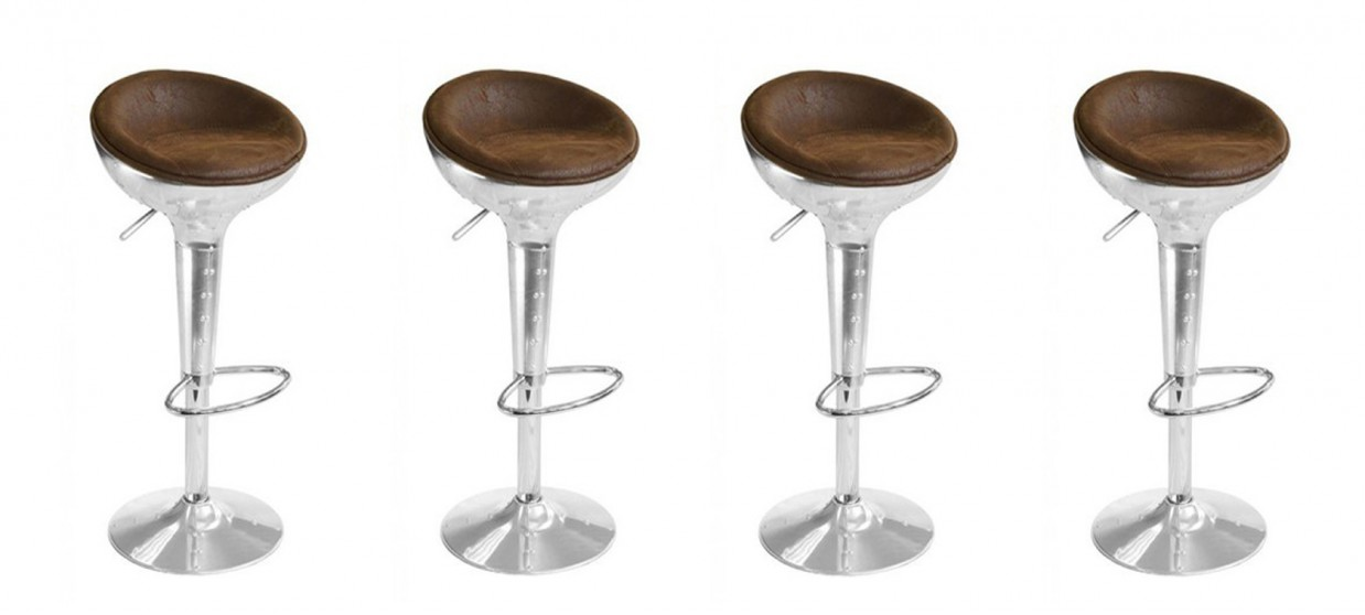 tabouret de bar design vintage aviator. Black Bedroom Furniture Sets. Home Design Ideas