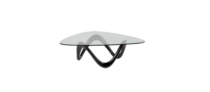 Table basse design noire - Niagara