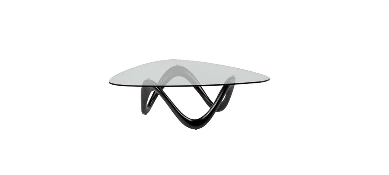 Table basse design noire - Niagara
