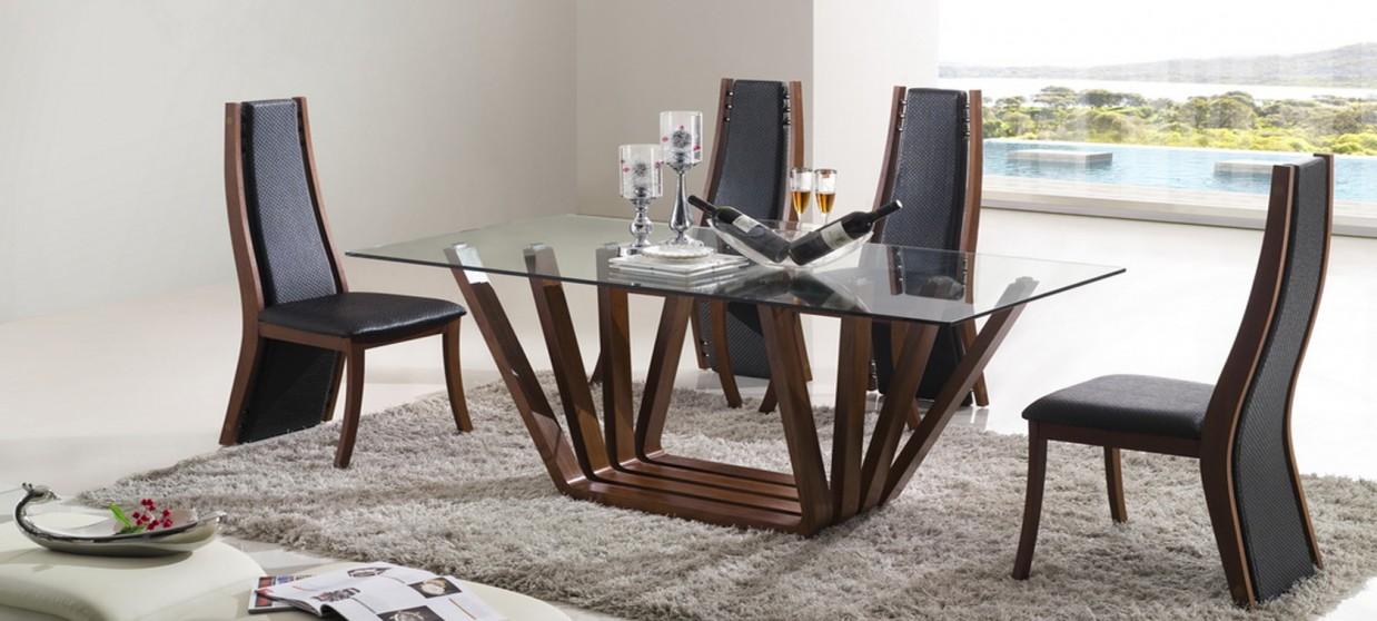 Table à manger design en bois - Berobella