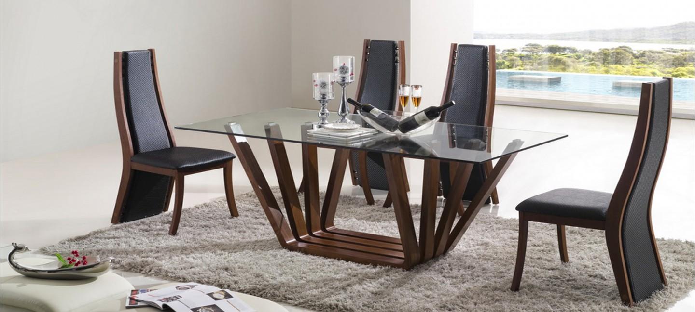 Table A Manger Design En Bois Berobella