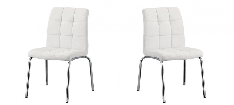 chaise salle manger blanche nursia