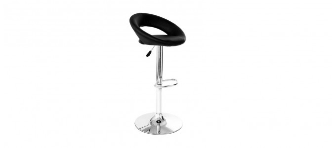 Tabouret de bar design noir - Palm