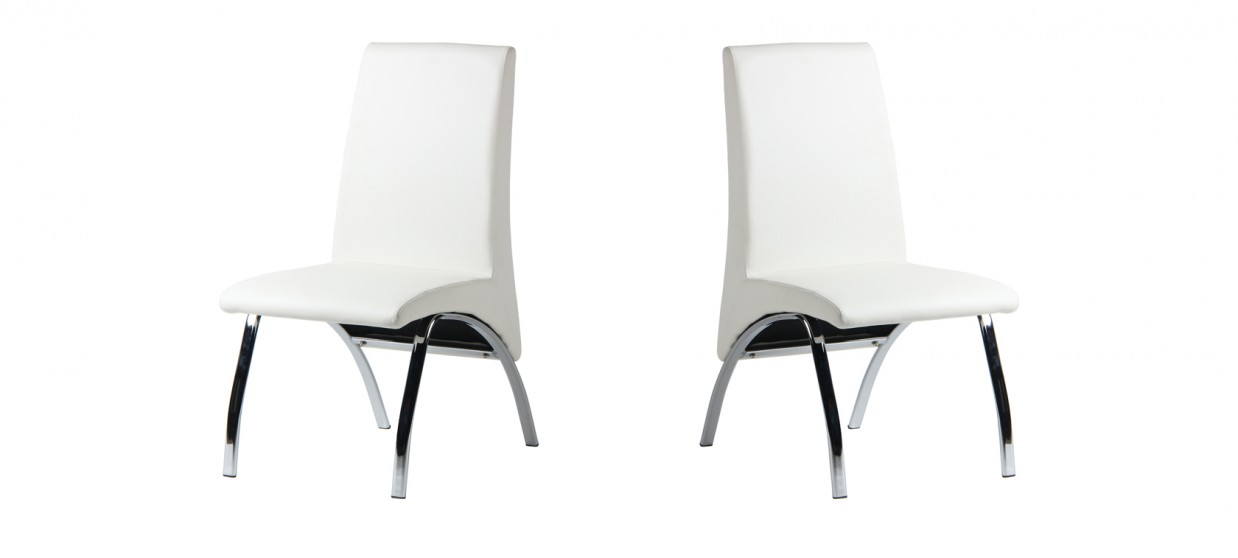 Chaise salle à manger blanche - Oka
