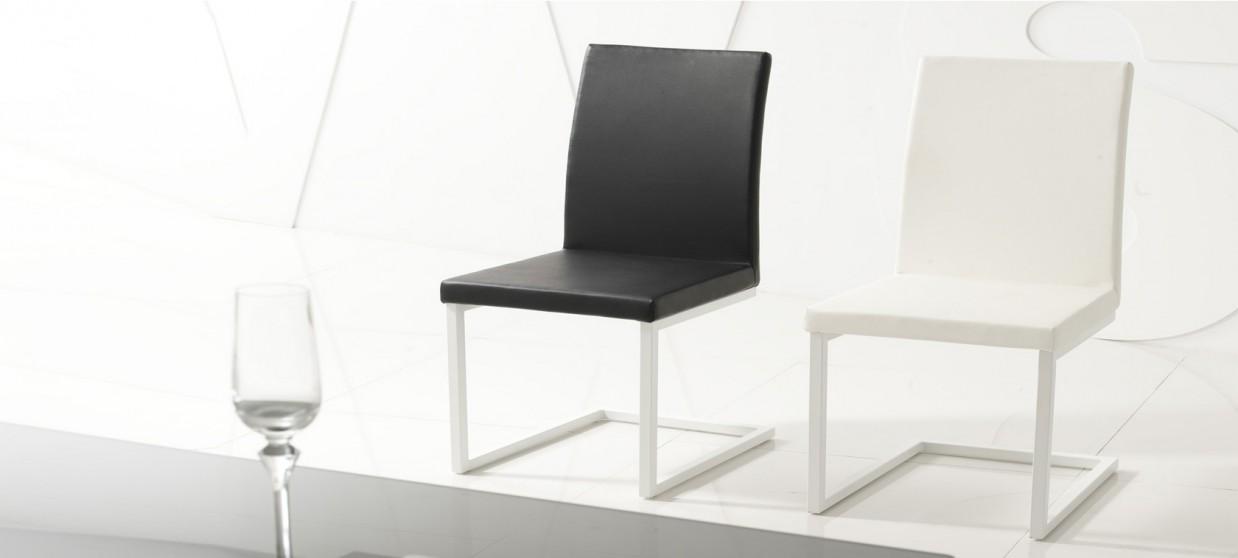 Chaise salle à manger noire - Selenga
