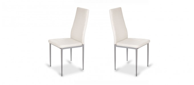 Chaise salle à manger blanche - Lena
