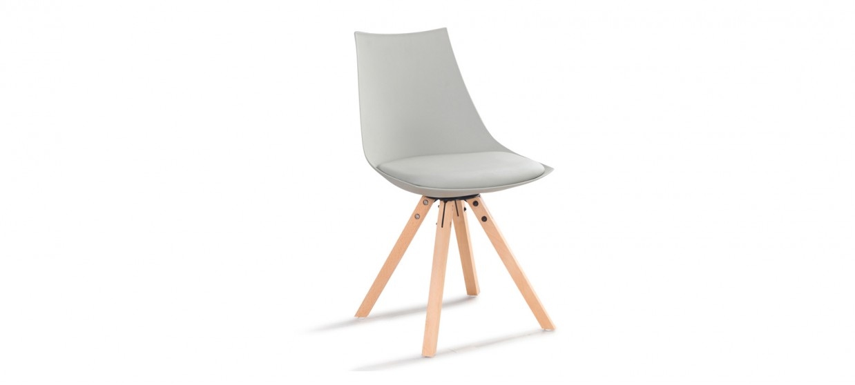 Chaise scandinave grise - Minsk