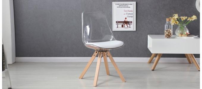 Chaise transparente polycarbonate - Helsinki