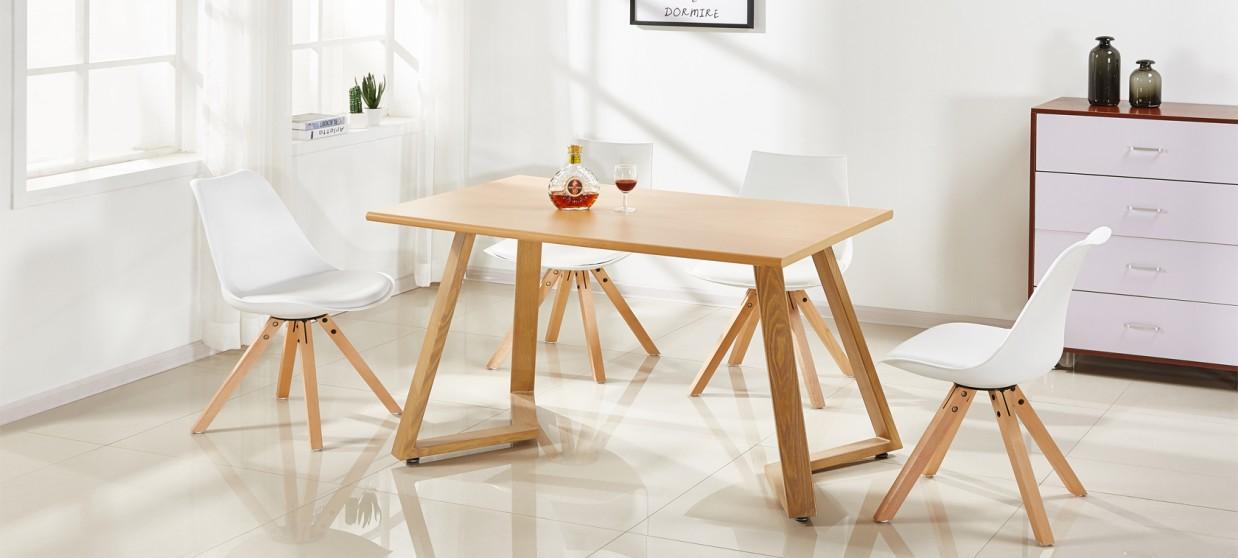 Table A Manger 120 Cm.Table A Manger Coloris Chene 120cm Trevi