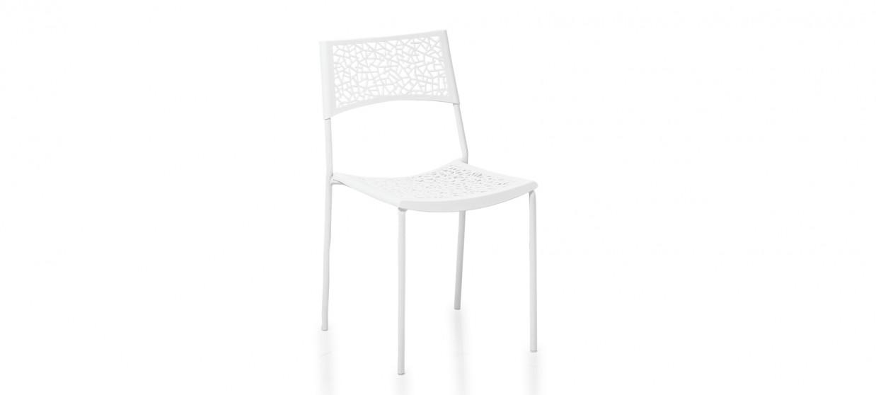 Chaise extérieur blanche - Berlin