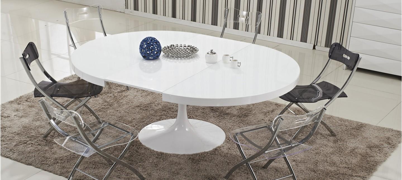 Table à manger design en bois - Isola