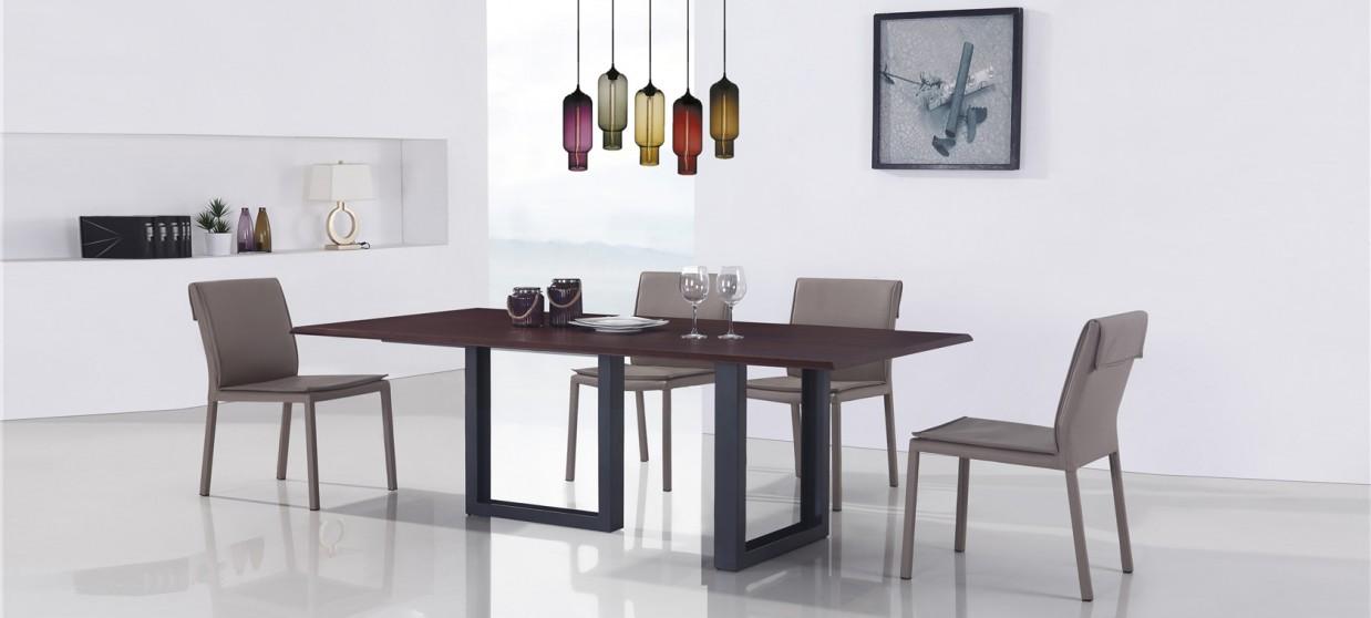 Table à manger design en bois - Veneto