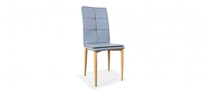 Chaise scandinave grise - Pietro