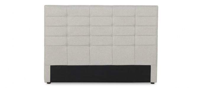 Tête de lit capitonnée beige 160 cm - Confort