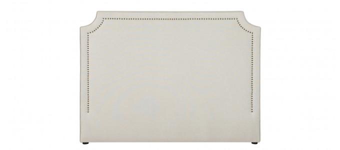 Tête de lit tissu taupe 160 cm - Detente